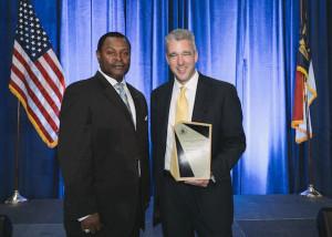 Franklin Hill, EPA Region 4 Superfund Director and Tom McKittrick, Principal Forsite Development Inc.